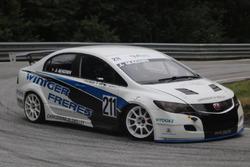 Jonas Magnin, Honda Civic, Rikli Motorsport