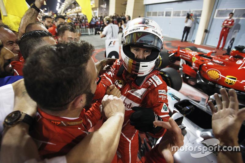 1 місце — Себастьян Феттель, Ferrari. Умовний бал — 77,778