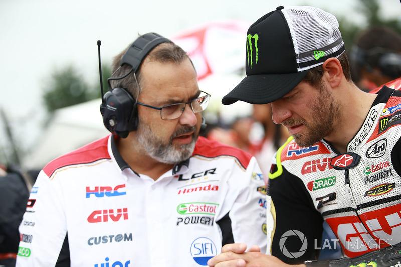Крістоф Бургіньон, керівник Team LCR Honda, та Кел Кратчлоу