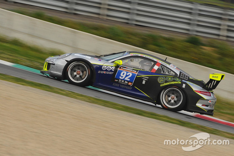 #92 MSG Motorsport, Porsche 991 Cup: Philipp Sager, Luca Rettenbacher, Christopher Zöchling