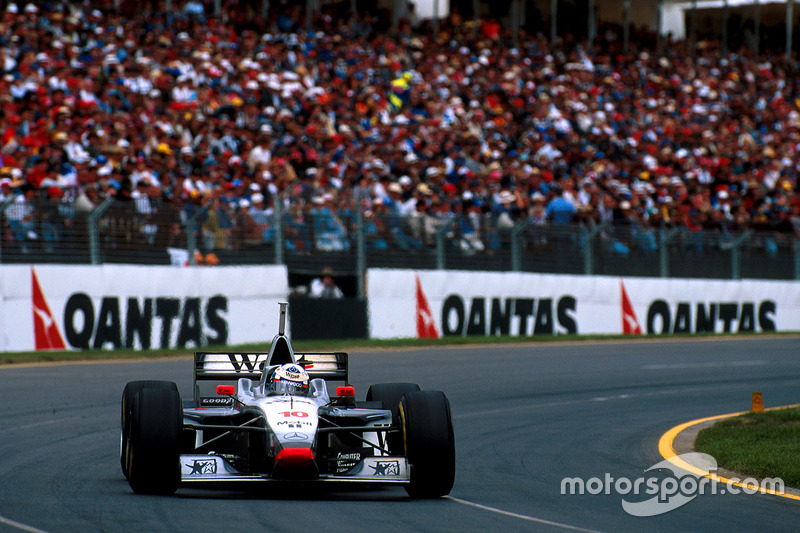 David Coulthard, McLaren MP4/12-Mercedes