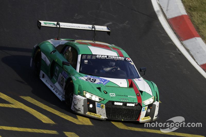 2017: Christopher Mies, Connor De Phillippi, Markus Winkelhock, Kelvin van der Linde (Audi R8 LMS)
