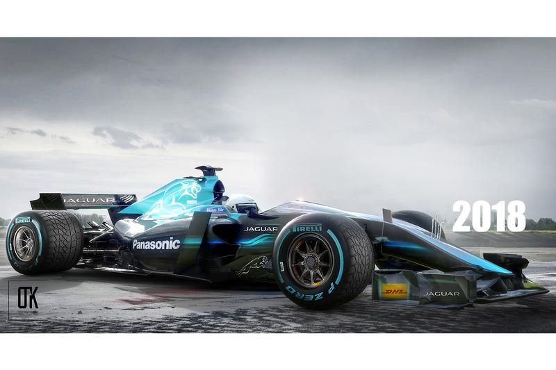 Jaguar 2018 Fantezi konsept