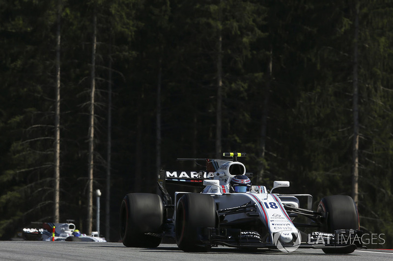 Ленс Стролл, Williams FW40