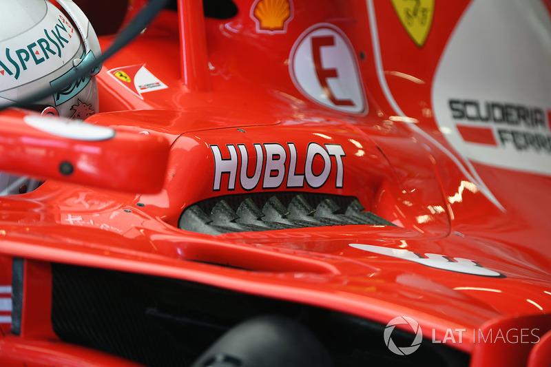 Деталь Ferrari SF70H