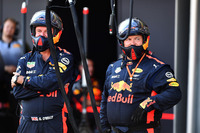 Mecánicos de Red Bull Racing