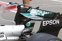 Mercedes AMG F1 W08, rear wing