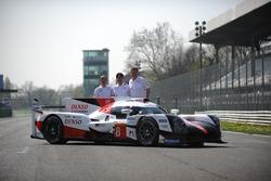 Hisatake Murata, Pascal Vasselon, Toyota Racing con el Toyota Gazoo Racing Toyota TS050 híbrido