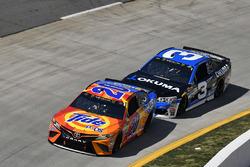 Matt Kenseth, Joe Gibbs Racing, Toyota; Austin Dillon, Richard Childress Racing, Chevrolet