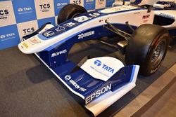 Nakajima Racing front wing detail