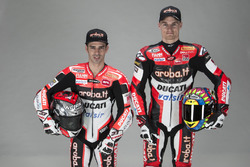 Marco Melandri and Chaz Davies, Ducati Team
