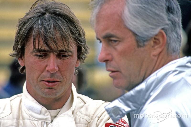 Rick Mears, Team Penske PC9 Cosworth con Roger Penske