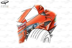 Ferrari F2001 exhaust