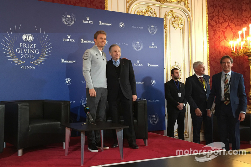Nico Rosberg, Mercedes AMG F1, Jean Todt, FIA President