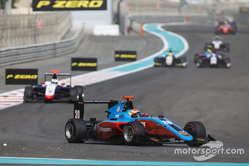 Arjun Maini, Jenzer Motorsport leads Giuliano Alesi, Trident