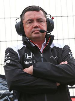 Eric Boullier, McLaren