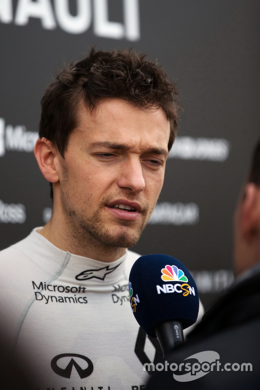 Jolyon Palmer, Renault Sport F1 Team met de media