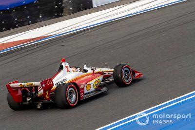 IndyCar-Showrun auf dem Charlotte Roval