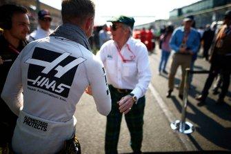 Kevin Magnussen, Haas F1, y Sir Jackie Stewart