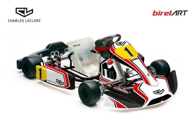 Anuncio Charles Leclerc Kart Team