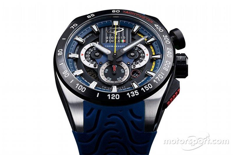 Часы Джордж Пиолы в синем цвете