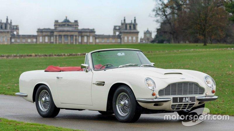 Aston Martin DB6 Volante électrique