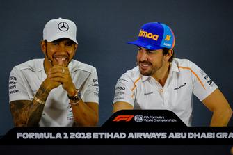 Lewis Hamilton, Mercedes AMG F1, Fernando Alonso, McLaren