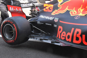 Red Bull Racing RB14 vloer detail