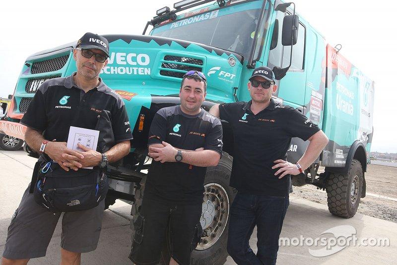 #503 Team De Rooy Iveco: Gerard de Rooy, Moises Torrallardona, Darek Rodewald