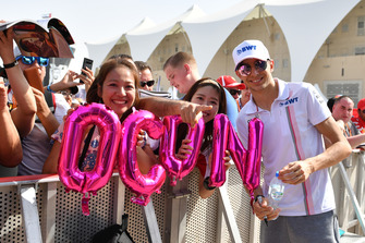 Esteban Ocon, Racing Point Force India and fans