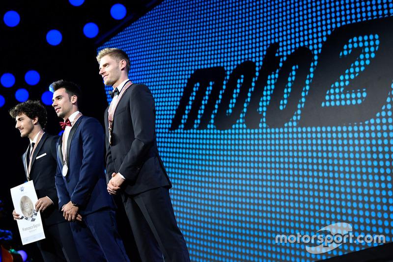 Francesco Bagnaia - SKY Racing Team VR46, Miguel Oliveira - Red Bull KTM Ajo, Brad Binder - Red Bull KTM Ajo