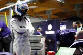 Sam Bird, Envision Virgin Racing in the garage