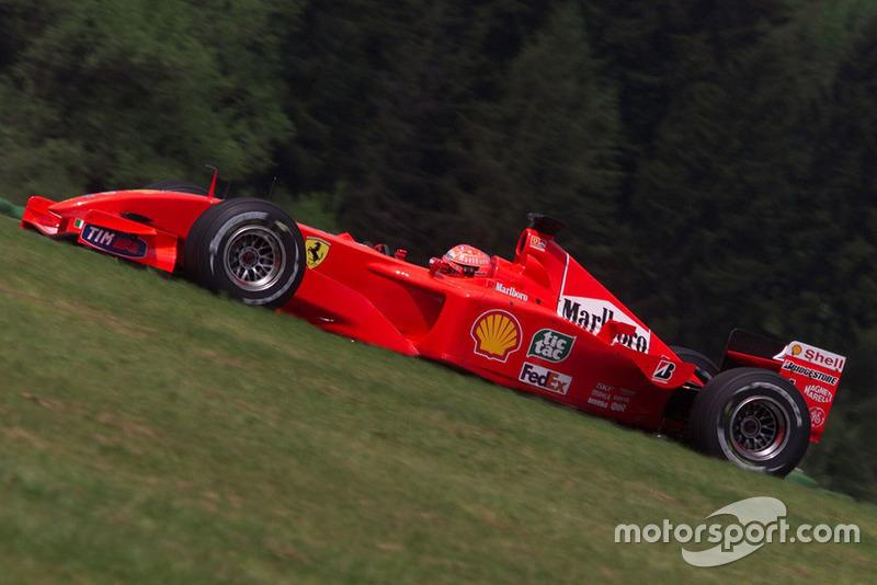 Schumacher ainda buscava recordes