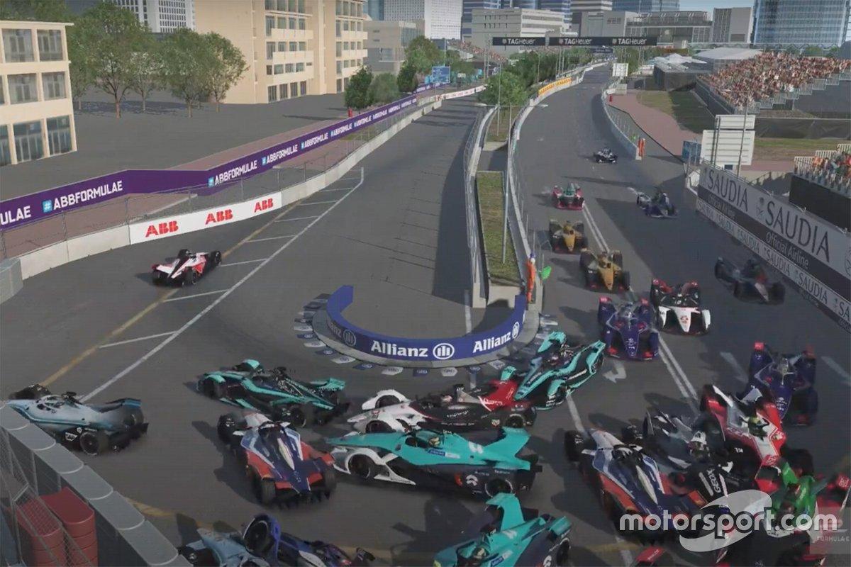 Формула Е: Race at Home Challenge - 4 этап