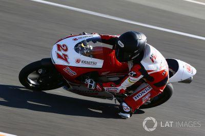 Moto3-Test in Valencia