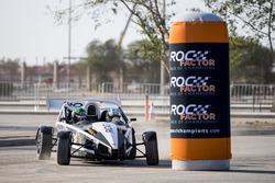 Terry Grant driving the Ariel Atom Cup with Ahmed Bin Khanen before ROC Factor Saudi Arabia