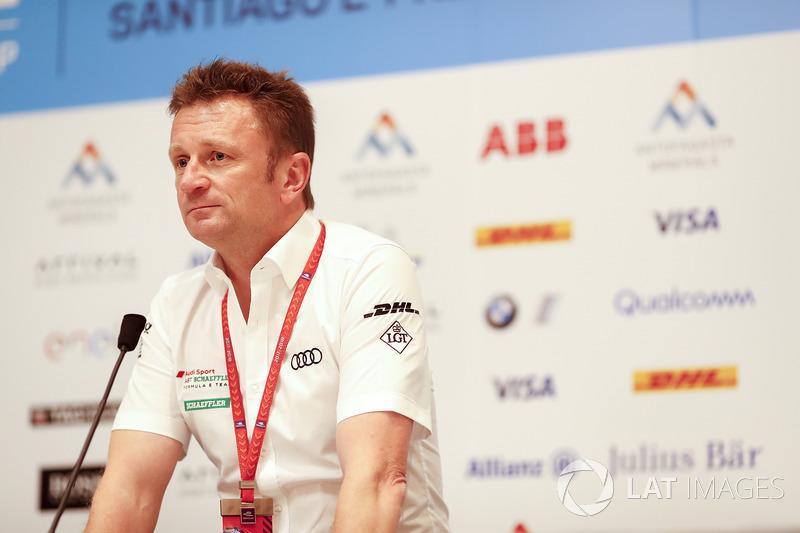 Press conference with Allan McNish, Team Principal, Audi Sport Abt Schaeffler