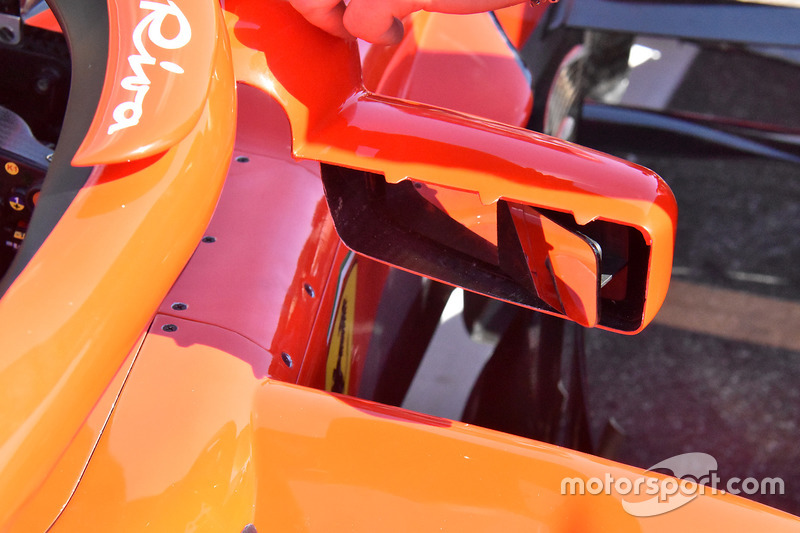 Ferrari SF71H mirror