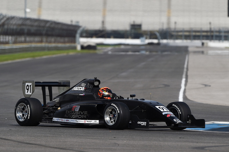 Mazda Road to Indy testing