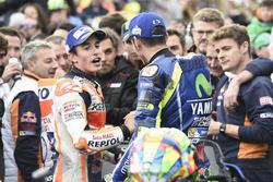 1. Marc Marquez, Repsol Honda Team; 2. Valentino Rossi, Yamaha Factory Racing