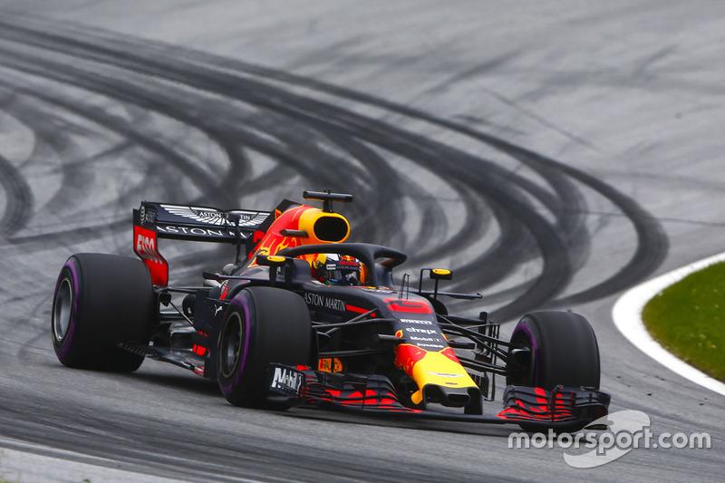 Ausfall: Daniel Ricciardo, Red Bull Racing RB14