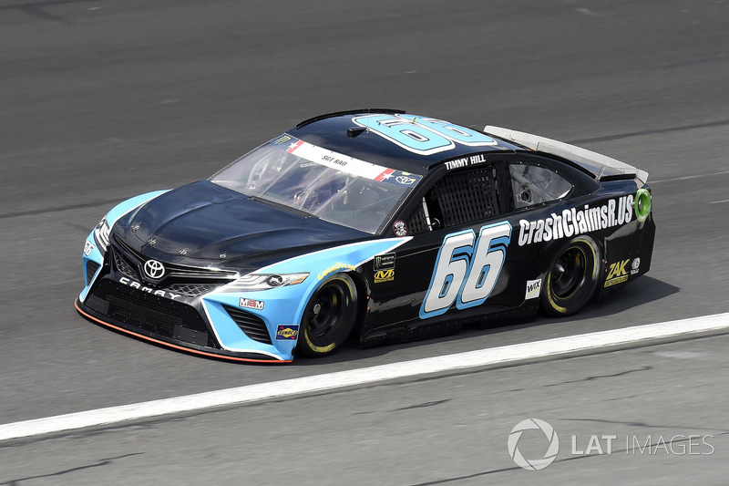 36. Timmy Hill, Motorsports Business Management, Toyota Camry CrashClaimsR.us
