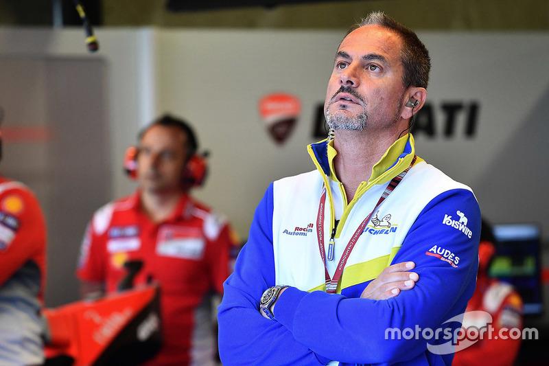 Piero Taramasso, Manager Two-Wheel Michelin Motorsport