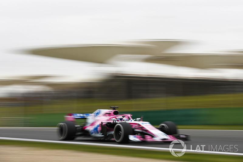 8. Sergio Perez, Force India VJM11