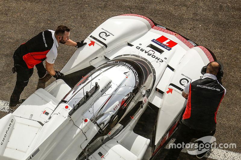 Porsche 919 Hybrid Evo, Porsche Team, detalle delantero