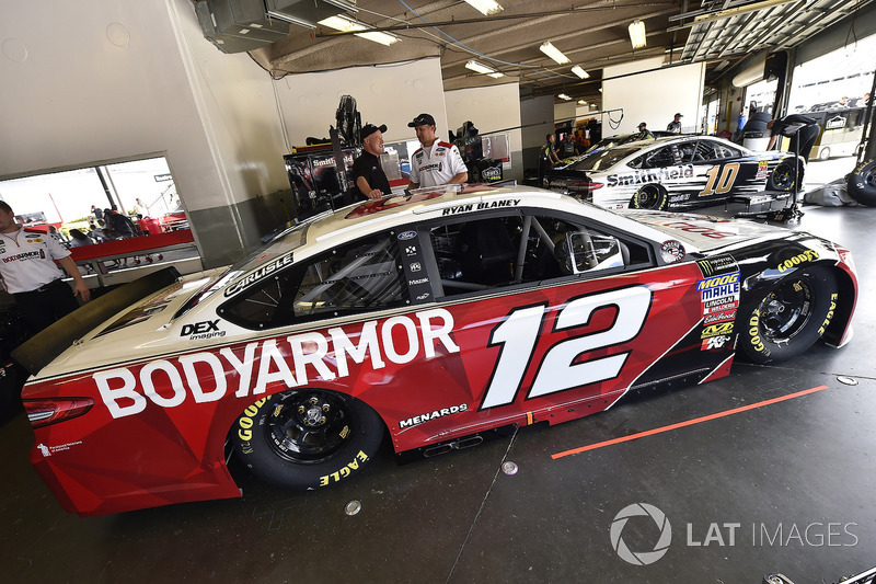 Ryan Blaney, Team Penske, Ford Fusion BodyArmor