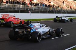 Essai de départ de Sergey Sirotkin, Williams FW41