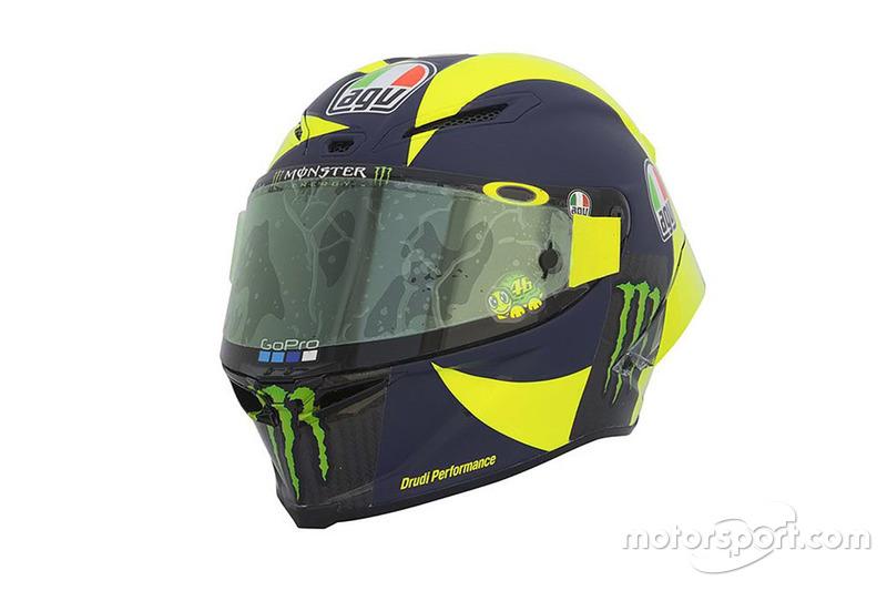 Valentino Rossi, Yamaha Factory Racing helmet
