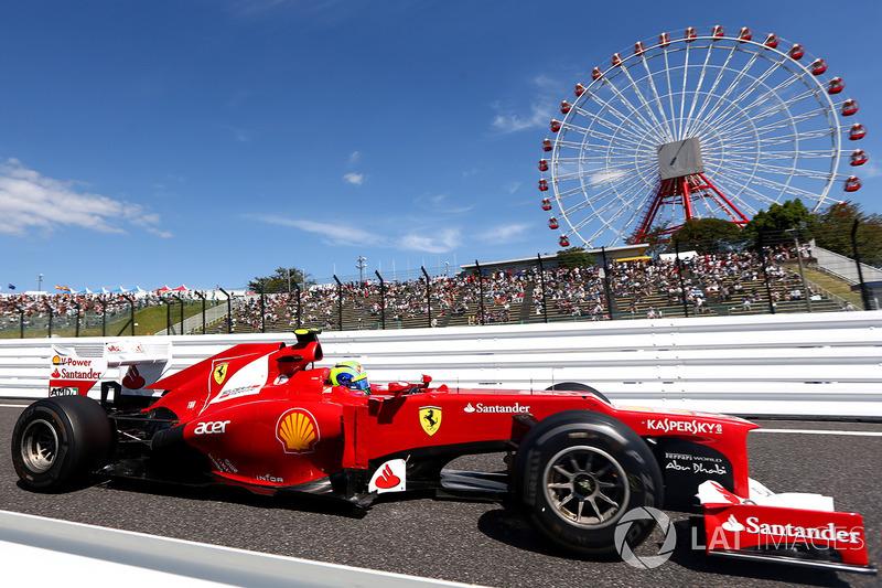 24º Felipe Massa - 13 carreras - De Hungría 2012 a China 2013 - Ferrari