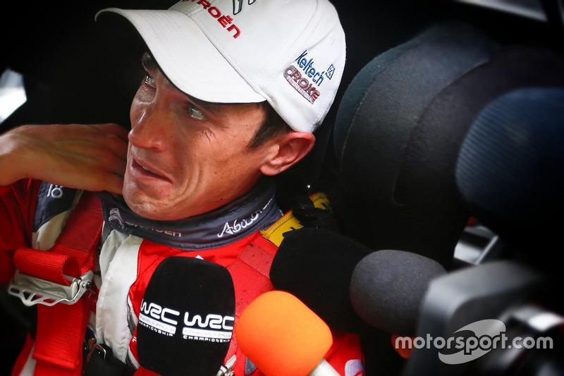 WRC – емоційний подіум Крейга Бріна